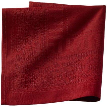 Fata de masa Sander Basics Oxford 145x225cm, bumbac 100%, 1 Red