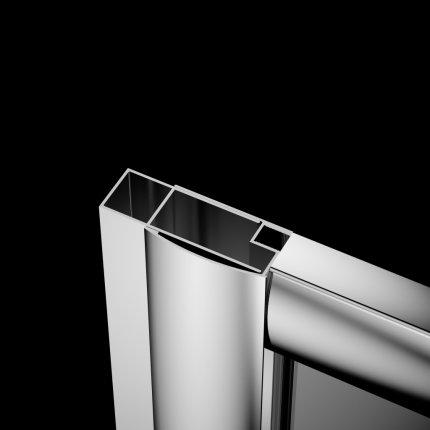 Profil extensie Radaway Premium Plus 2cm , pentru montaj pe partea fixa