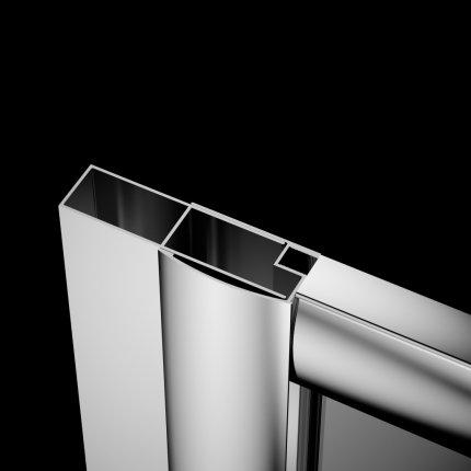 Profil extensie Radaway Premium Plus 4cm , pentru montaj pe partea fixa