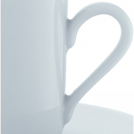Set 4 cesti si farfuriute espresso LSA International Dine Straight 0.04 litri