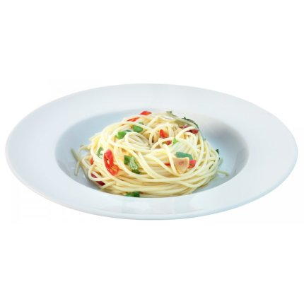 Set 4 farfurii LSA International Dine Pasta Rimmed 30cm