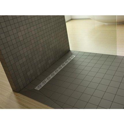 Kit rigola de dus Radaway pe latura scurta RadaDrain 110x90cm placare 8-12mm