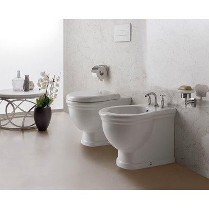 Vas WC Globo Paestum 38x57cm, back-to-wall, pentru rezervor ingropat