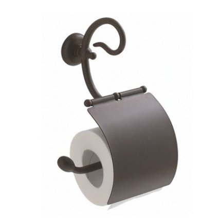 Suport hartie igienica Globo Paestum, metal antichizat
