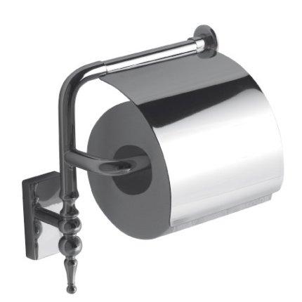 Suport hartie igienica Globo Paestum, crom