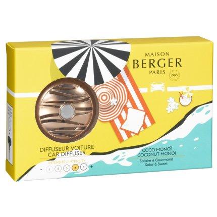 Set odorizant masina Berger Blissful Coconut Monoi + rezerva ceramica