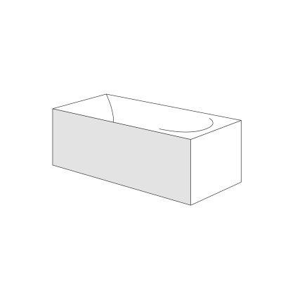 Panou frontal Radaway pentru cazi rectangulare 170cm, h58cm