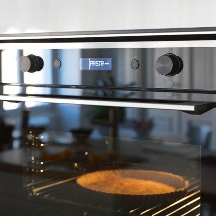 Cuptor electric incorporabil Franke Mythos FMY 99 HS BK Full Steam, Steam Cleaning, Cookassist, 73 litri, 19 functii, Clasa A+, Nero