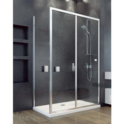 Panou lateral Besco Duo Slide 90cm, sticla transparenta securizata 6 mm