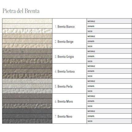 Gresie portelanata rectificata FMG Pietra del Brenta 60x30cm, 10mm, Moro Naturale