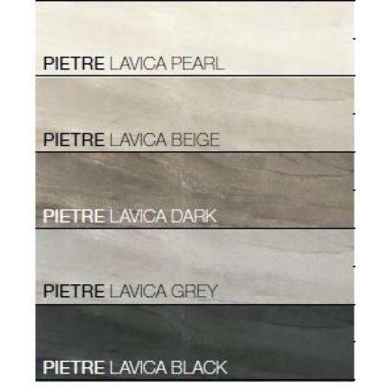 Gresie portelanata FMG Pietre Maxfine 100x100cm, 6mm, Lavica Dark Naturale