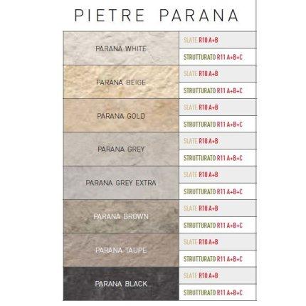 Gresie portelanata rectificata FMG Pietre Parana 60x30cm, 11mm, Brown Slate