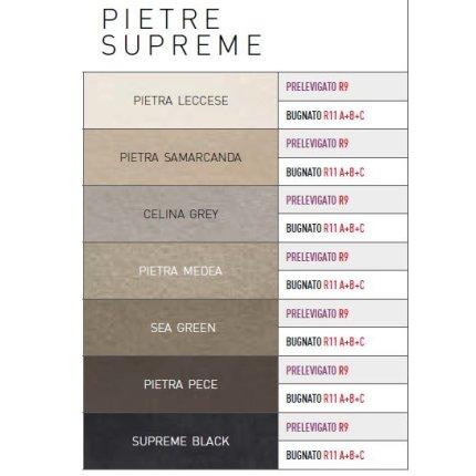 Gresie portelanata rectificata FMG Pietre Supreme 60x30cm, 10mm, Leccese Prelevigato