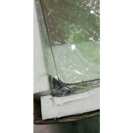 Cabina de dus patrata Kolo Rekord 90x90, profil crom lucios, sticla clara 4mm RESIGILAT
