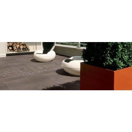 Gresie portelanata rectificata FMG Pietre 60x30cm, 9mm, Porfido Brown Levigato