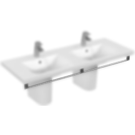 Port-Prosop Ideal Standard Connect Vanity 130cm cu fixare frontala Chrome