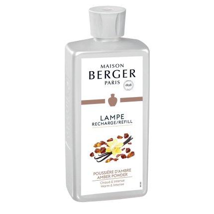 Parfum pentru lampa catalitica Berger Poussiere D'Ambre 500ml