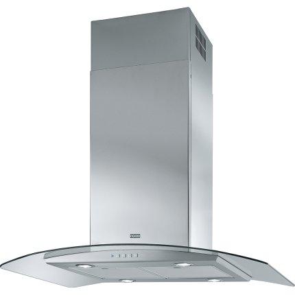 Hota insula Franke Glass Soft FGC 915 I XS, 90cm, 250W, 650 m3/h, inox satinat