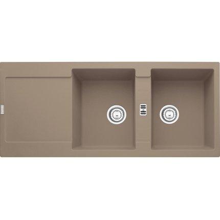 Chiuveta fragranite Franke Maris MRG 621 reversibila 1160x500 tehnologie Sanitized Oyster