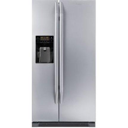 Combina frigorifica Side by Side Franke FSBS 6001 NF IWD XS A+, Total No Frost, 604 litri, dozator apa si gheata, clasa A+, Inox satinat