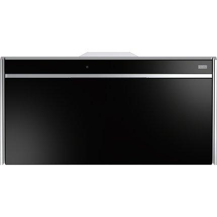 Hota verticala Franke Frames by Franke FS VT 906 W XS BK, 90 cm, 700 m3/h intensiv, Nero