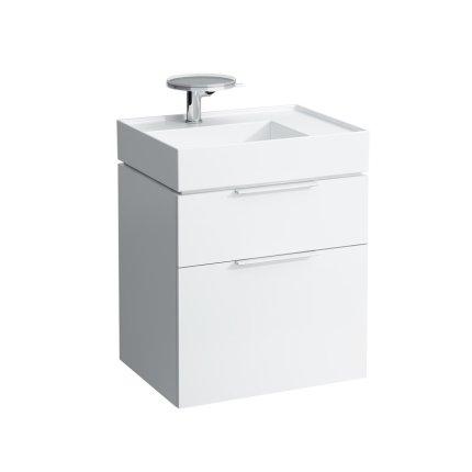 Lavoar asimetric Kartell by Laufen orientare dreapta, 60x46cm, alb