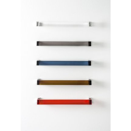 Suport prosop Kartell by Laufen Rail design Ludovica & Roberto Palomba, 60cm, transparent