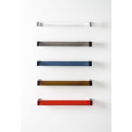 Suport prosop Kartell by Laufen Rail design Ludovica & Roberto Palomba, 60cm, negru lucios