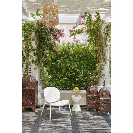 Masuta Kartell Prince Aha design Philippe Stark, d30cm, h43cm, gri lavanda