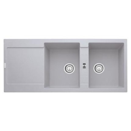 Chiuveta fragranite Franke Maris MRG 621 reversibila 1160x500 tehnologie Sanitized Alluminio