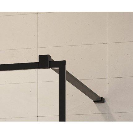 Cabina de dus tip Walk-in Radaway MODO New II Black Frame 80cm