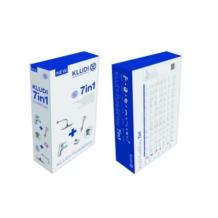 Sistem de dus incastrat Kludi Pure&Easy A-QA Eco 200 cu 2 consumatori + CADOU baterie de lavoar