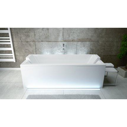 Cada baie rectangulara Besco Quadro 170x75cm, acril