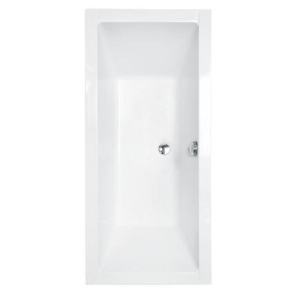 Cada baie rectangulara Besco Quadro 155x70cm, acril