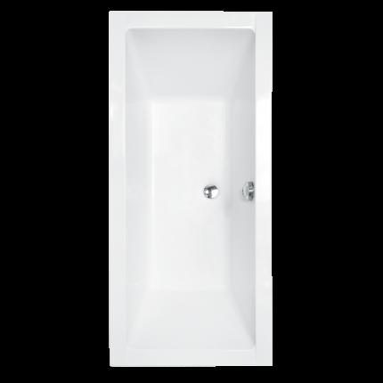 Cada baie rectangulara Besco Quadro 175x80cm, acril