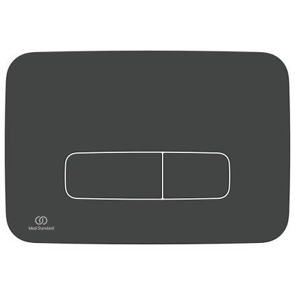 Clapeta dubla actionare Ideal Standard Oleas M3, neagra