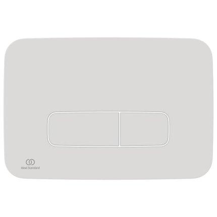 Clapeta dubla actionare Ideal Standard Oleas M3, alb