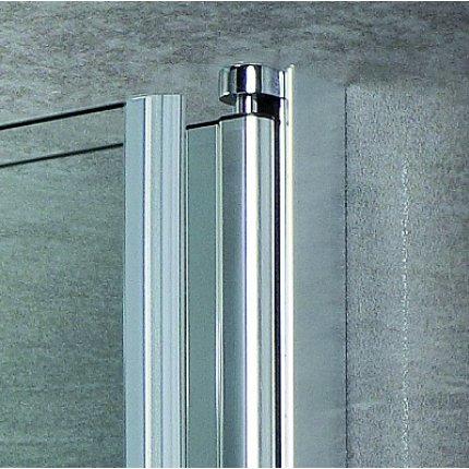 Paravan cada Radaway EOS PNW5, 5 elemente mobile, 107x152 cm, sticla transparenta, profil crom