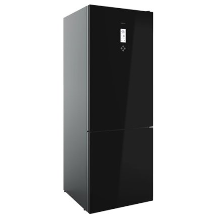 Combina frigorifica Teka Maestro RBF 78720 GBK LongLife No Frost, IonClean, 461 litri net, clasa A++, Cristal Black