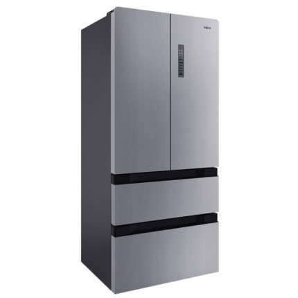 Combina frigorifica cu 4 usi Teka Maestro RFD 77820 S LongLife No Frost, compartiment Gourmet, Fuzzy Logic, IonClean, 500 litri net, clasa A++, inox