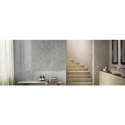 Gresie portelanata rectificata FMG Venice Villa 60x60cm, 10mm, Rialto Grey Naturale
