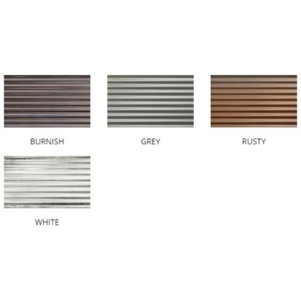 Faianta Diesel living Ribbed Oxide 10x20cm, 7mm, Grey