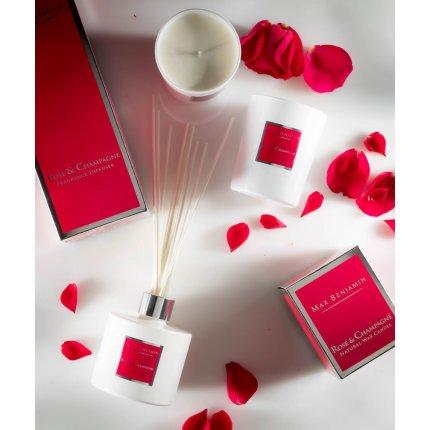 Lumanare parfumata Max Benjamin Classic Rose & Champagne 190g