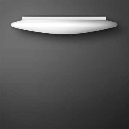 Aplica Lucis Rondo I, 1x40W, 2Gx13, 45cm, alb