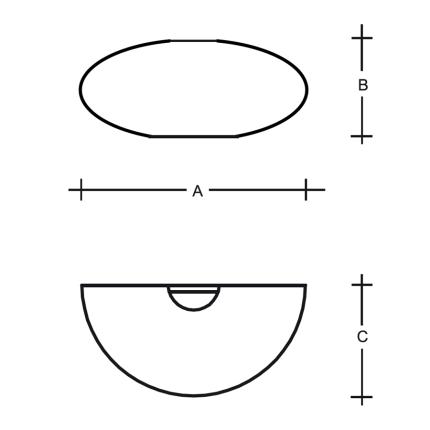 Aplica de perete Lucis Asterion 2x40W, E27, 35cm, alb
