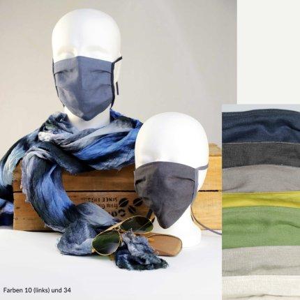 Masca de protectie Sander Linnen, in, bleu