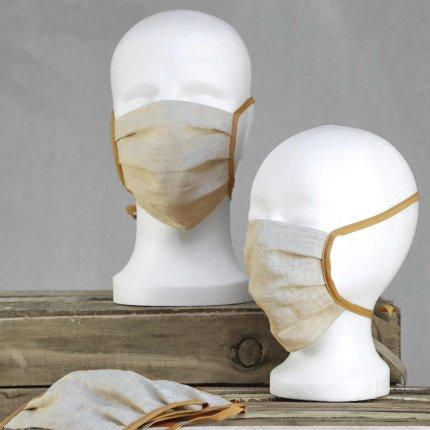 Masca de protectie Sander Linnen, in, rosu