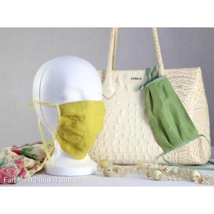Masca de protectie Sander Linnen, in, verde mar