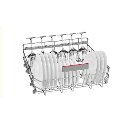 Masina de spalat vase incorporabila Bosch SBE67MX03E Serie 6, 60cm, 14 seturi, VarioHinge, h86,5 cm, clasa A+++, PerfectDry