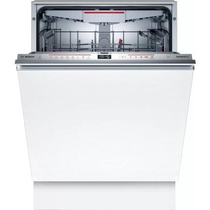 Masina de spalat vase incorporabila Bosch SBH6ZCX42E Serie 6, 14 seturi, 8 programe, h 86,5cm, 60cm, clasa A+++, uscare cu Zeolith, VarioHinge